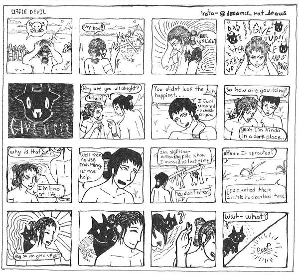 devil boy comic