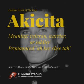 Akicita (veteran, warrior, or soldier)