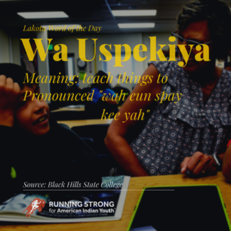 Wa Uspekiya (to teach to)