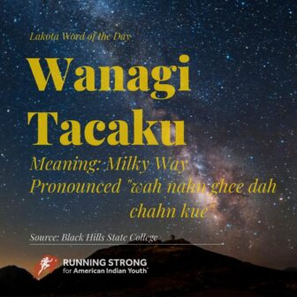 Wanagi Tacaku (Milky Way)